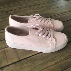 Pink Van Like Shoes